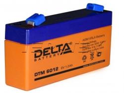 Аккумуляторы Delta DTM 6012
