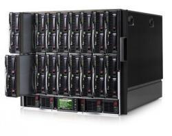 Блейд-система HP c7000, 8 блейд-серверов BL460c G6: 2 процессора Intel Quad-Core E5520 2.26GHz, 24GB DRAM, 2x146GB SAS