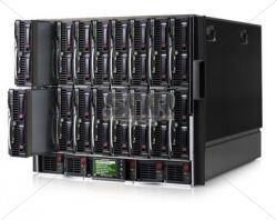 Блейд-система HP c7000, 8 блейд-серверов BL460c G6: 2 процессора Intel Quad-Core X5560 2.8GHz, 48GB DRAM, 2x146GB SAS