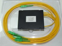 Делитель оптический корпусный single window 1х 4 (1310nm) SC/APC
