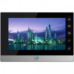 Домофон  True-IP TI-2750BS (черный с серебром)