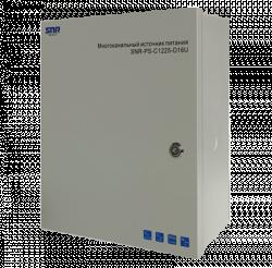 Источник питания многоканальный SNR-PS-C1225-D16U с поддержкой АКБ, 16 каналов 12V DC, 25A