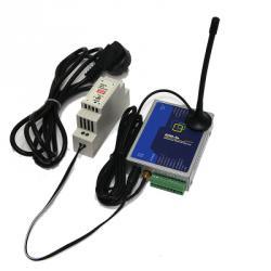Конвертер интерфейсов Octopus-GSM, металл корпус, БП, крепление DIN