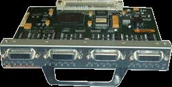 Модуль Cisco PA-4T+