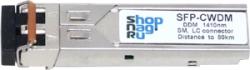 Модуль SFP 2.5G CWDM оптический, дальность до 120км  (34dB), 1430нм