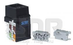 Модуль-вставка SNR под KeyStone, 90 градусов
