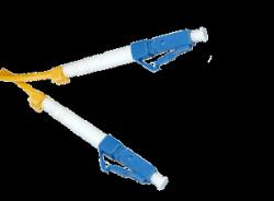 Патчкорд оптический SNR-PC-LC/UPC-A - 1 метр