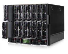Блейд-система HP c7000, 4 блейд-сервера BL460c G6: 2 процессора Intel Quad-Core L5630 2.13GHz, 24GB DRAM, 2x146GB SAS