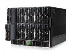 Блейд-система HP c7000, 8 блейд-серверов BL460c G6: 2 процессора Intel 6C X5650 2.66GHz, 48GB DRAM, 2x146GB SAS