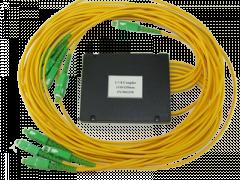Делитель оптический корпусный single window 1х 7 (1310nm) SC/APC
