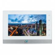 Домофон  True-IP TI-2750WS (белый с серебром)