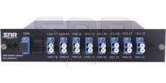 Мультиплексор-Демультиплексор DWDM одноволоконный 8-канальный + TV канал 1550 в шасси