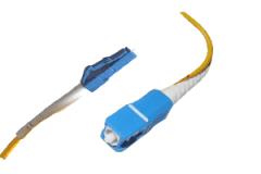 Патчкорд оптический LC/UPC-SC/UPC SM 15метров