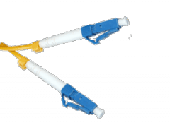 Патчкорд оптический LC/UPC SM  1 метр