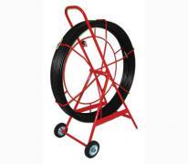 Устройство для затяжки (протяжки) кабеля на тележке, D=11mm, L=150m, цвет - черный (Россия)